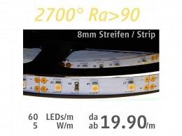 LED Strip : onlux Flexi 05 - 120-60 HW Ra>90 3528-LED 12V - 5W/m
