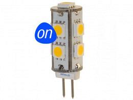 LED Bulb : onlux MicroLux 459 G4 LED 12V - 0.95W 70lm Warm Ra>85 300° (10W)