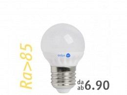 LED Bulb : onlux GloboLux P45-MS-38 927 E27 Halo 4.9W 410lm 2700°K Ra > 85